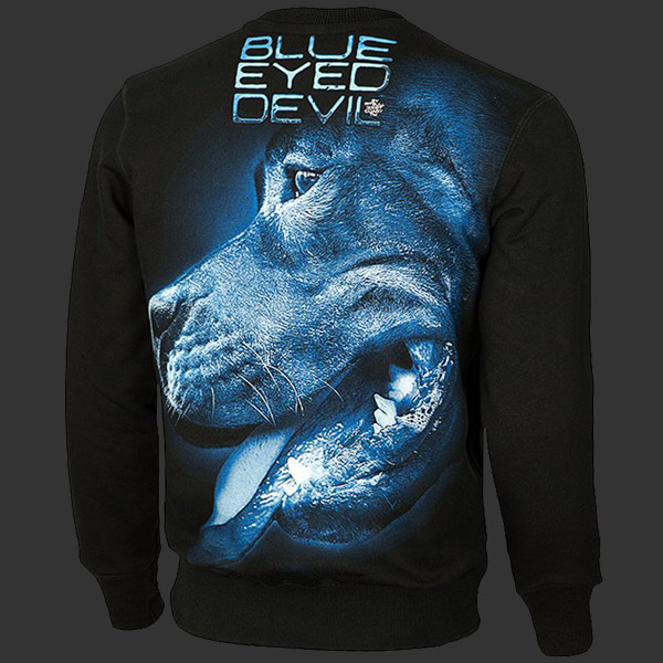 5612dd54dcc4 Bluza PIT BULL BLUE EYED DEVIL X black